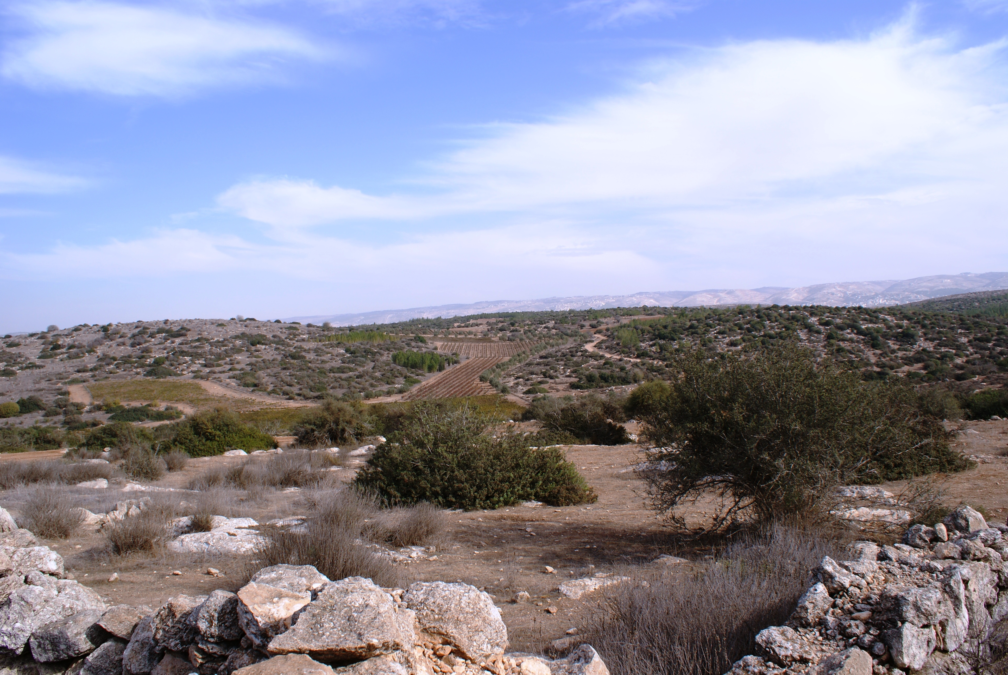 Postcard from Israel – Hurvat Burgin