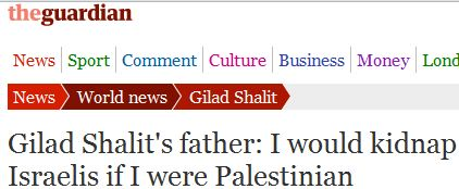 Guardian corrects story with false translation of Noam Shalit interview after his son's release