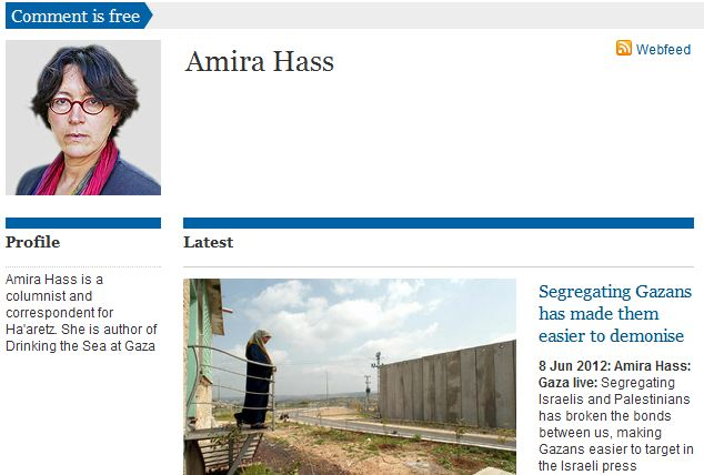 Making Hamas Disappear: Amira Hass's journalistic sleight of hand evokes fictitious Gaza