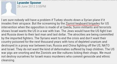 """CiF reader comment of the day: On """"Zionist Keyboard Brigades"""""""
