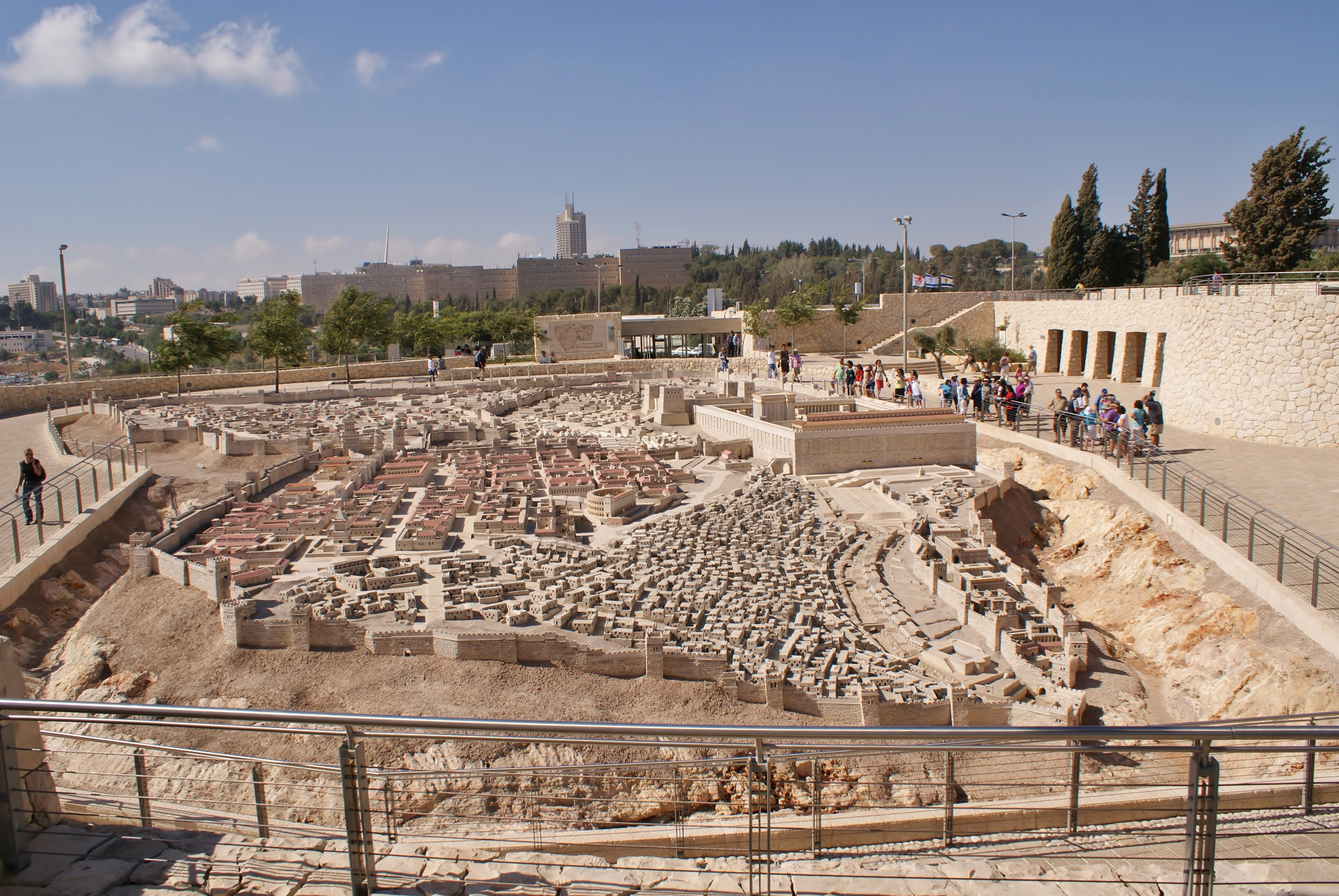 Postcard from Israel – Jerusalem in 66 CE.