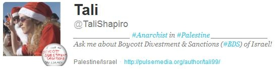 BDS is for Bully! Disturb! Spam! or: Tali Shapiro's pathetic #BDSFAIL