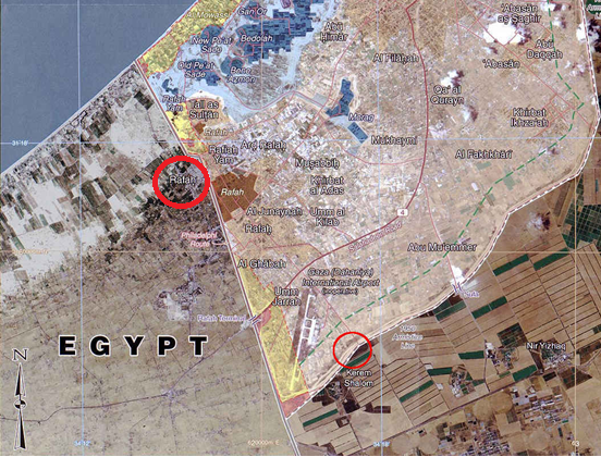 Report on the terror attack near Kerem Shalom, August 5th 2012.