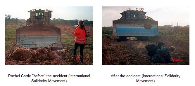 Αποτέλεσμα εικόνας για rachel corrie bulldozer