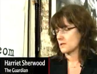 Jews marauding in a vacuum: Harriet Sherwood's artful dodge