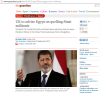 Cameron & Morsi