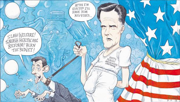 The Guardian mentally undresses Mitt Romney