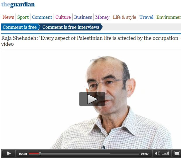 Guardian interviewee casually suggests Israel is attempting to ethnically cleanse Palestinians