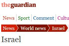 Round-up of the Guardian's Israel coverage – September 2012
