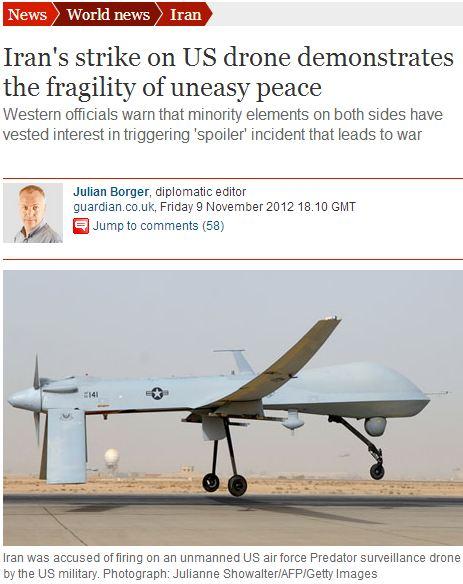 "Guardian's Julian Borger warns of ""minority elements"" provoking US-Iran war"