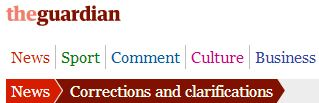 CiF Watch prompts Guardian correction to Ashrawi claim regarding 'Jews only' homes