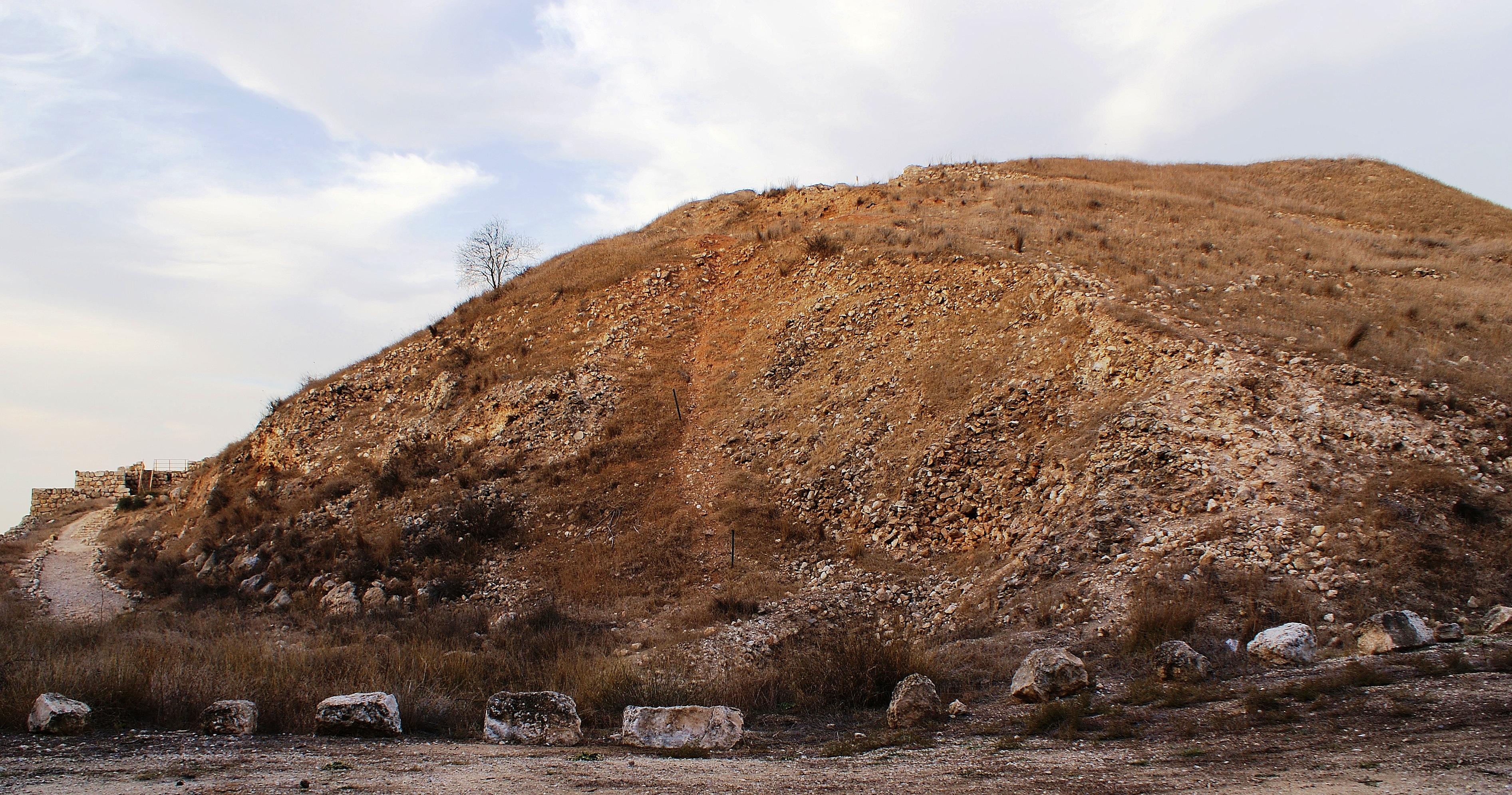 Postcard from Israel -Tel Lachish