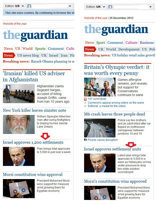 US Guardian and the UK Guardian – 2 blogs separated by a 'unit-ary' language