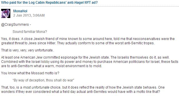 """'Comment is Free', """"Neocons"""" and attacks against a much maligned Abrahamic faith"""