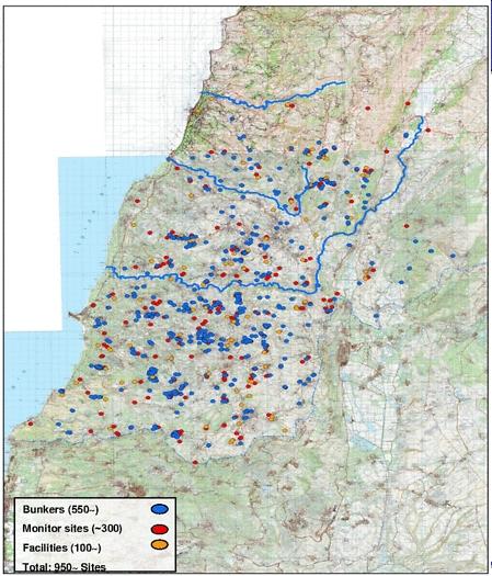 Hezbollah-map-southern-Lebanon