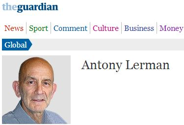 'Comment is Free' contributor Antony Lerman plays 'Israel-Nazi' card
