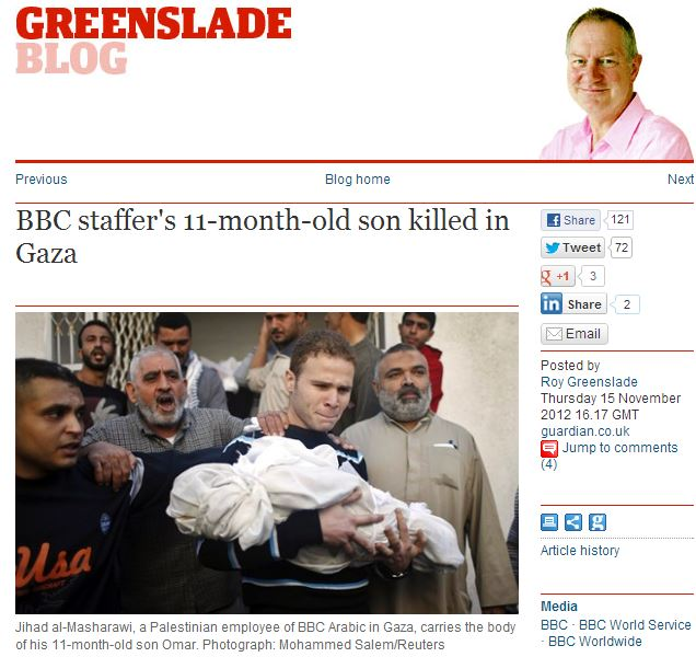 Following CiF Watch post and Tweet, the Guardian's Roy Greenslade corrects Misharawi story