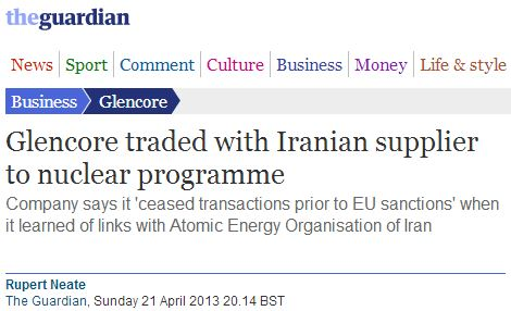 "Guardian removes claim about Iran's nuclear ""weapons"" program from 'the pages of time'"