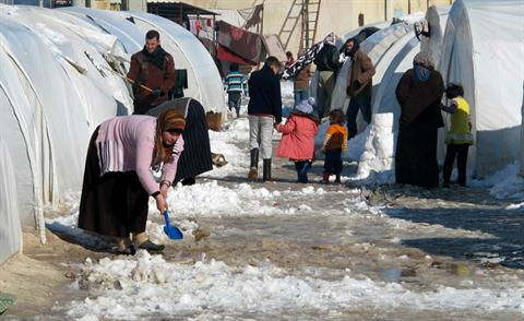Syrian Refugees January 2013