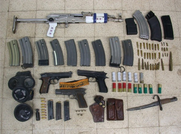 Archive: Weaponry Uncovered in Palestinian's Home