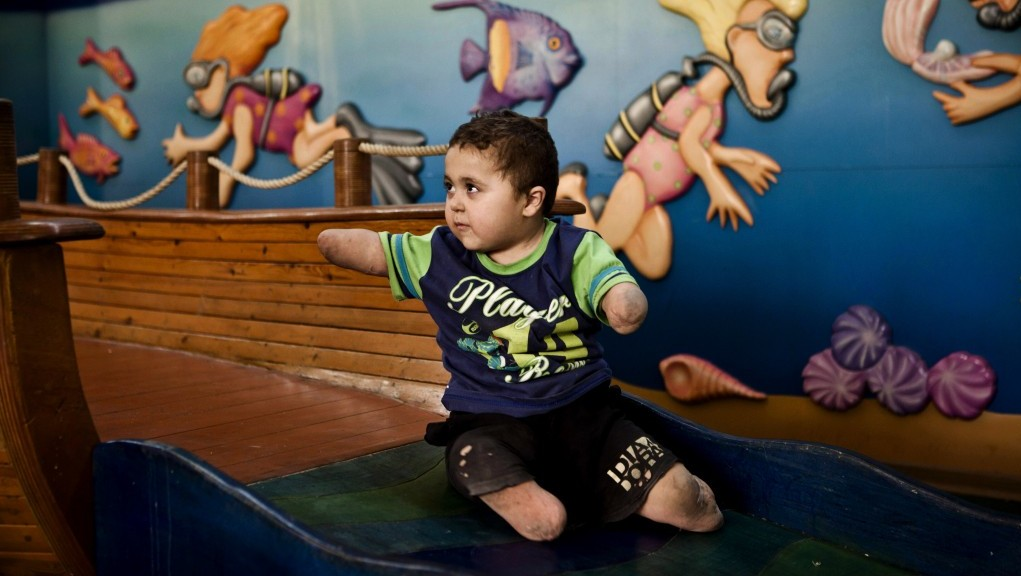 What the Guardian won't report: Disabled and abandoned Palestinian child cared for by Israel