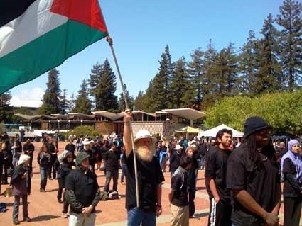 UC BERKLEY - Protest the veto of Israel Divestment