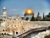 Western Wall (Kotel) looking towards Temple Mount (Har Habayit)