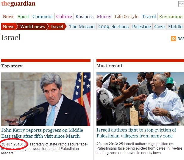 Is the Guardian's 'Israel Obsessive Disorder' in remission?