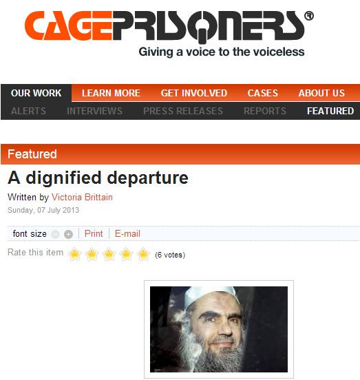 "Cageprisoners, Rowntree Trust and ""Jews did 9/11""."