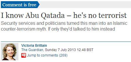 Guardian's former associate foreign editor: I know Abu Qatada – he's no terrorist.