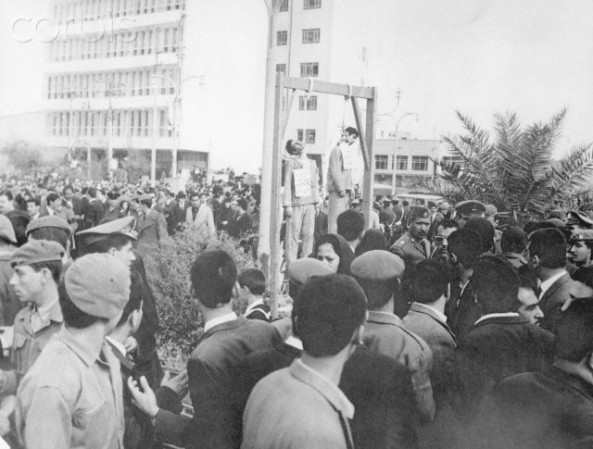 Hanging of Jewish Students in Baghdad
