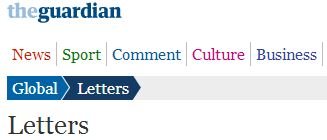 Do Guardian editors fact check the letters they choose to publish?