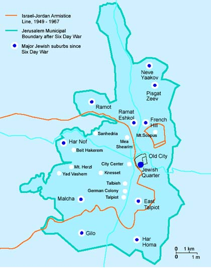 map of jerusalem borders 67 before and after