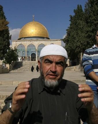 (FILES)--Sheikh Raed Salah, the firebran