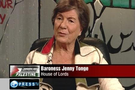 Baroness Jenny Tonge Edited