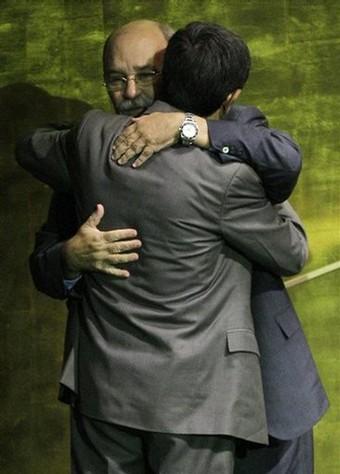 Mahmoud Ahmadinejad, Miguel d'Escoto Brockmann