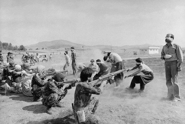Firing Squad Executing Rebels