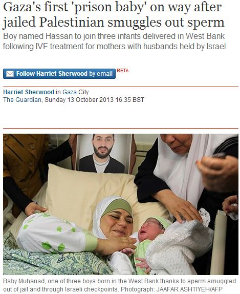 Following CiF Watch post, Guardian amends 'terrorist sperm' story