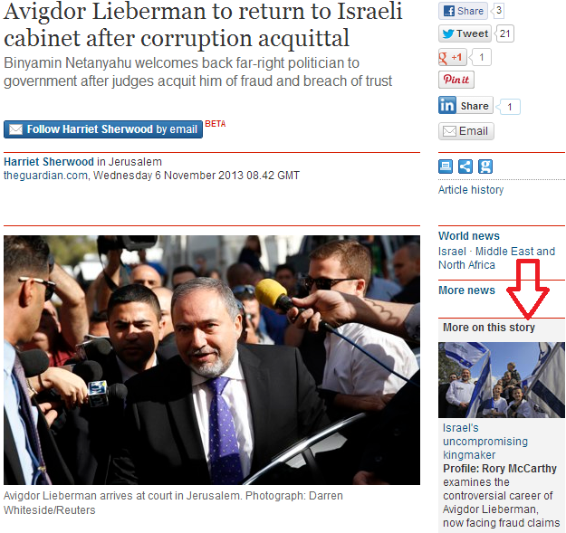 Is a lie of omission still a lie? Guardian report failed to include key words in Lieberman quote