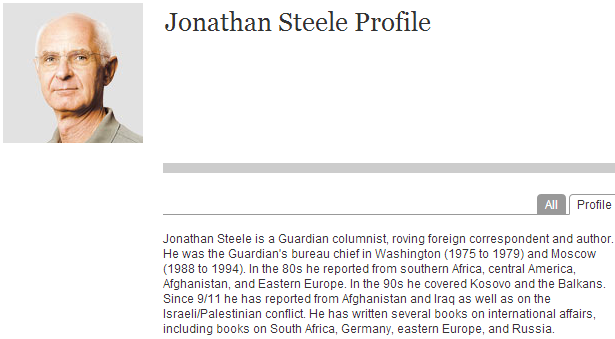 Guardian propagandist Jonathan Steele egregiously distorts the Israeli position on Iran