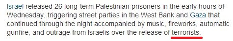 "Guardian makes egregious ""error""; refers to Palestinian ""terrorists"" without quotes"