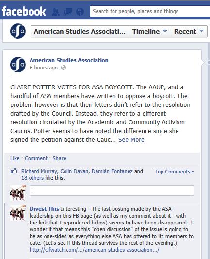 ASA Facebook Comment (2)