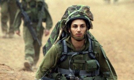 Israeli troops near Lebanon