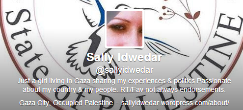 "Sally Idwedar 'forgets' to mention the H-word in her Indy essay on ""life in Gaza"""