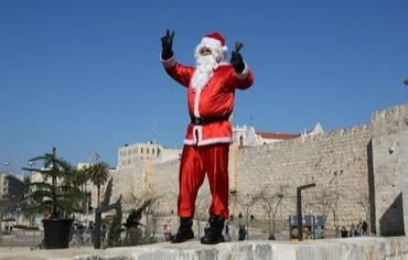Santa-in-Jerusalem
