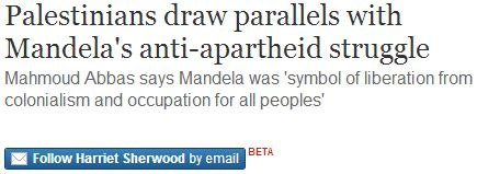 "The Spirit of Apartheid: Why ""Palestine"" will not be an 'Rainbow Nation'"