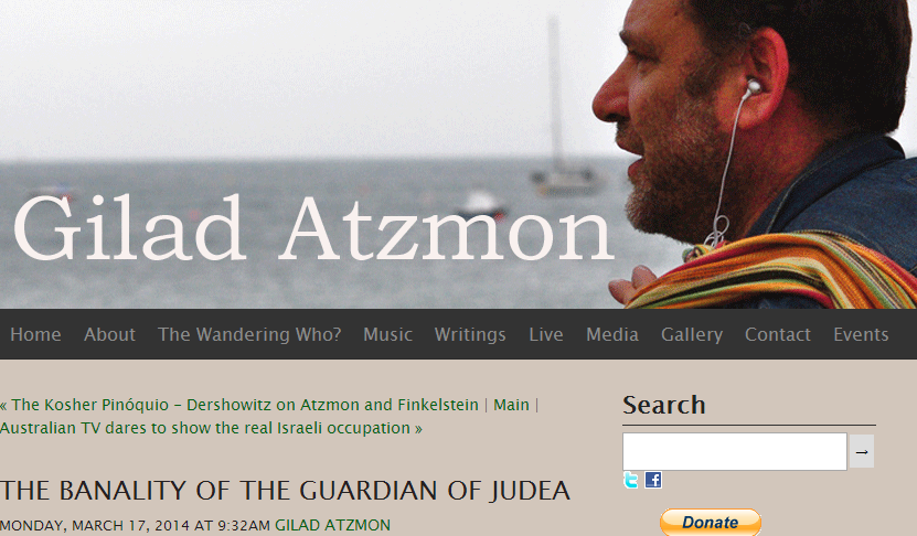 Gilad Atzmon slams the Guardian as a 'Lame Zionist Mouthpiece'.