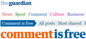 Focus below the line: Guardian readers 'reflect' on Israel and the Jews