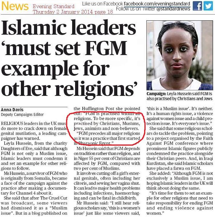 female genital mutilation in islam essay