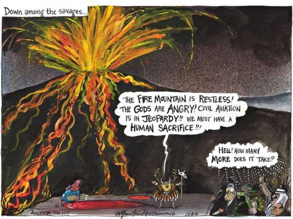 Guardian cartoon juxtaposes ISIS and Netanyahu